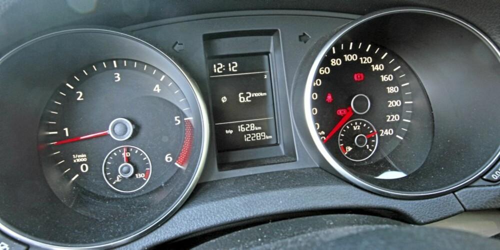 SPREK NOK: Med 90 hk og 230 Nm ved 1500 o/m er testbilen sprek nok, men veldig spennende er det ikke.