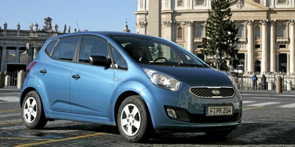 BRA MIKS: Litt Ford, litt Toyota, litt Citroen = vellykket Kia Venga.