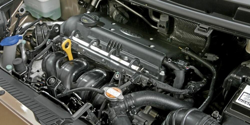 MOTORDILEMMA: 1,4 diesel er ventet å bli bestselger. Men bensinmotoren på bildet fungerer bedre.