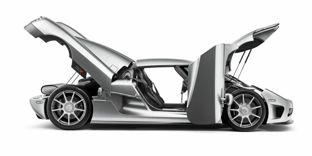 ÅTTENDEPLASS: Koenigsegg CCX