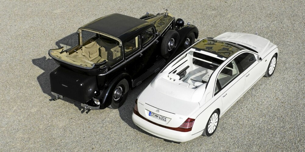 SJETTEPLASS: Maybach Landaulet