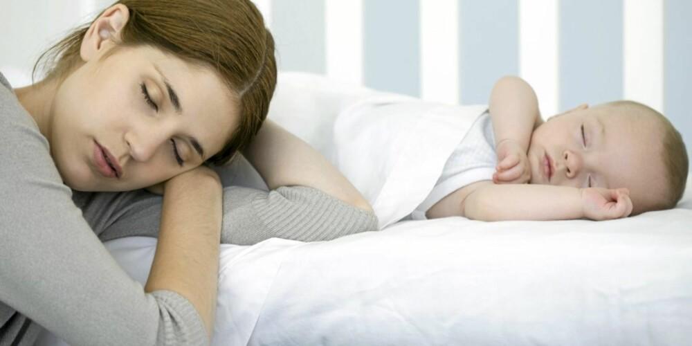 UNDERLIVSPLAGER: Rifter og urinlekkasjer kan være skår i gleden etter en ellers vellykket fødsel.