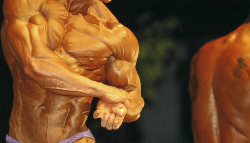 DEFFET KROPP: Utøvere av muskelidretter klarer å definere muskelmassen slik at hver fiber i muskelen synes. Denne trenden har nå spredd seg til vanlige mosjonister.
