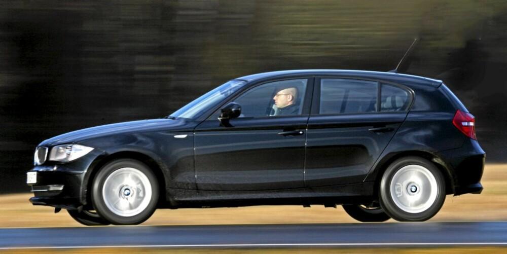 STANDARD: Testbilen var en standardversjon uten optiske tilleggselementer som store hjul eller sportslig karosseripakke.