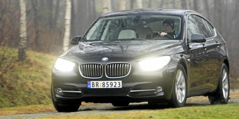 VELKJØRENDE: 5-serie GT er en nytelse å kjøre. Med 306-hesters bensinmotor er den også svært sprek.