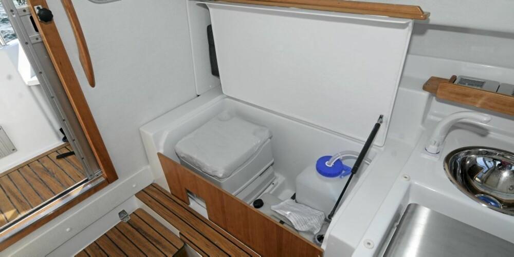 Små fasiliteter som gjør det enklere å bo om bord.