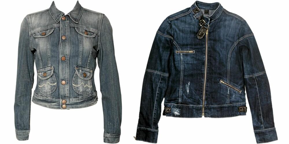FRA VENSTRE: Pepe Jeans (kr 1599), Ricco Vero (kr 1999).