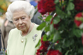 KONGELIG ÅPNING: Dronning Elizabeth åpner hvert år Chelsea Flower Show.