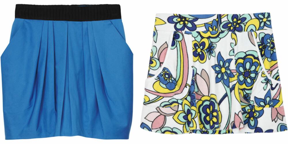 FRA VENSTRE: H&M (kr 299), Juicy Couture (kr 753).