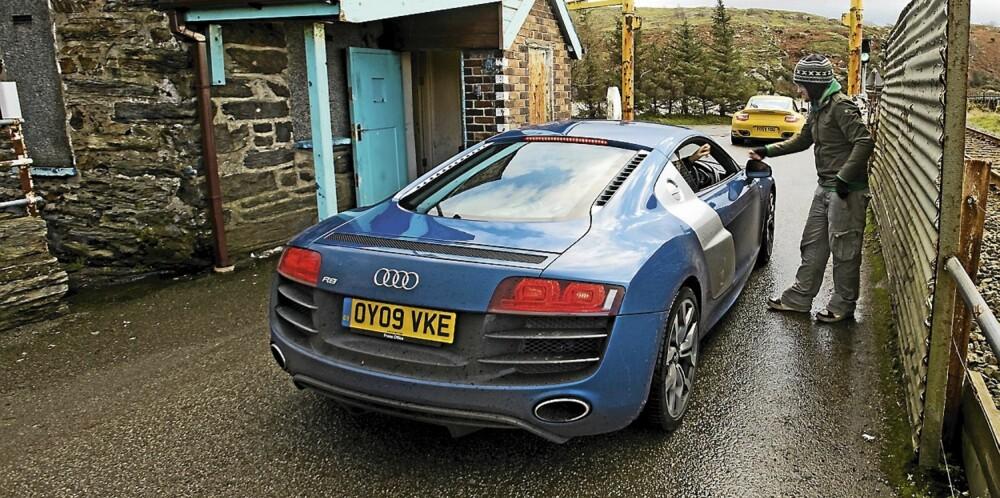 De krever inn bompenger i Wales - også for superbiler som Audi R8 V10.