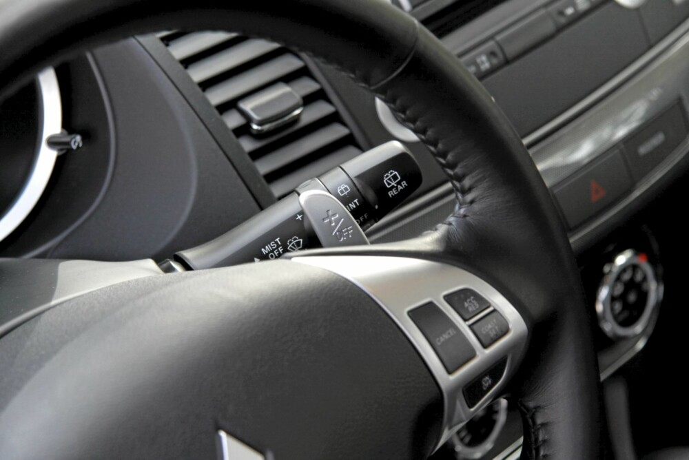 AUTOMAT: Den trinnløse automatgirkassa kan overstyres manuelt. Fint ned bakker, tull ellers.