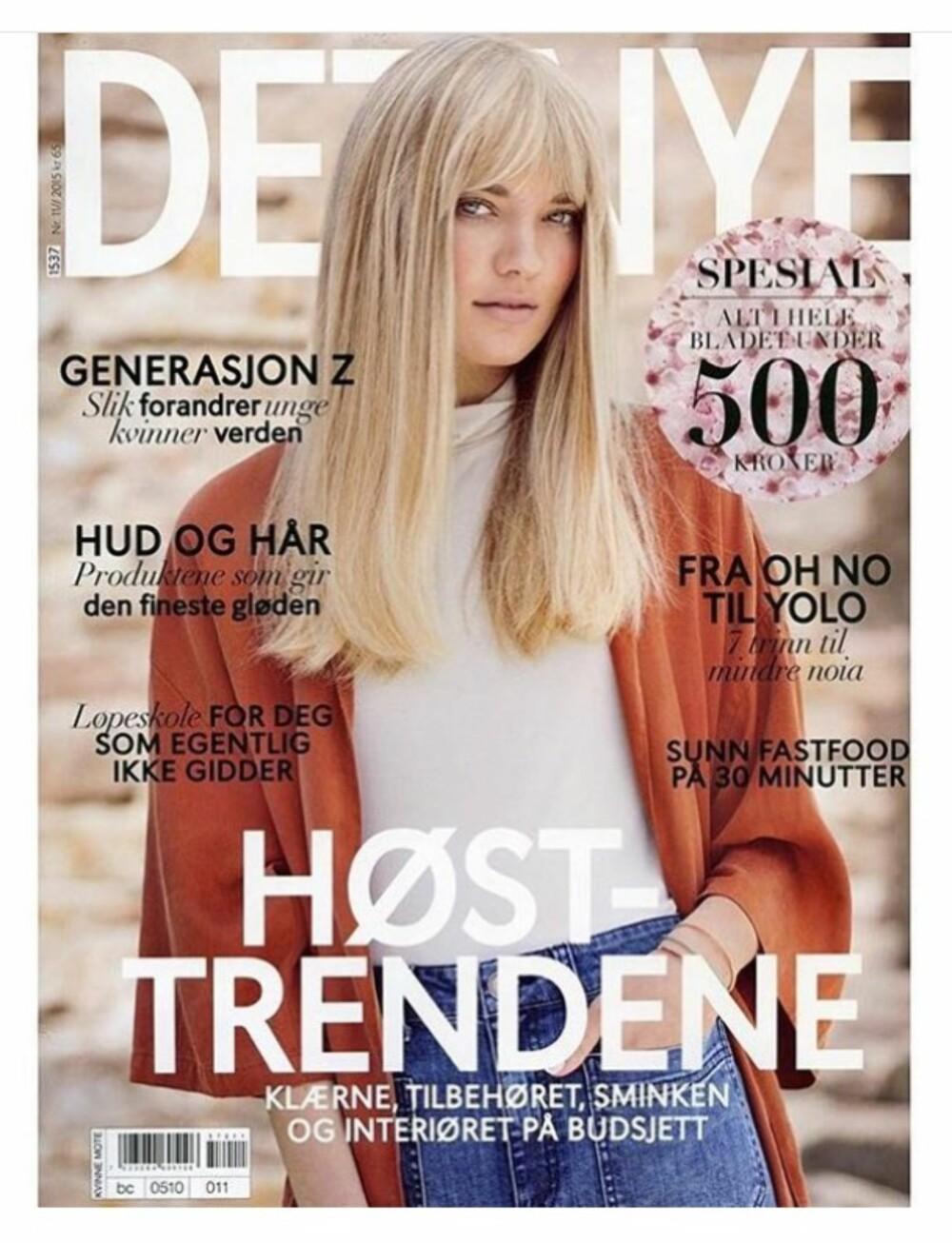 I BUTIKK NÅ: Ekstra stor utgave av Det Nye i butikk nå.