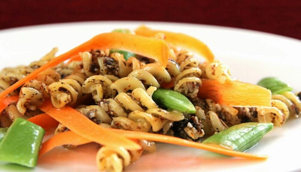 OPPSKRIFT PÅ PASTA: Denne pastaen sørger for variasjonen i pastamiljøene.
