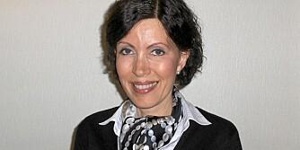 SJOKOLADEKAKE: Den heldige vinneren av konkurransen er Alice Hald Clark fra Sandnes.