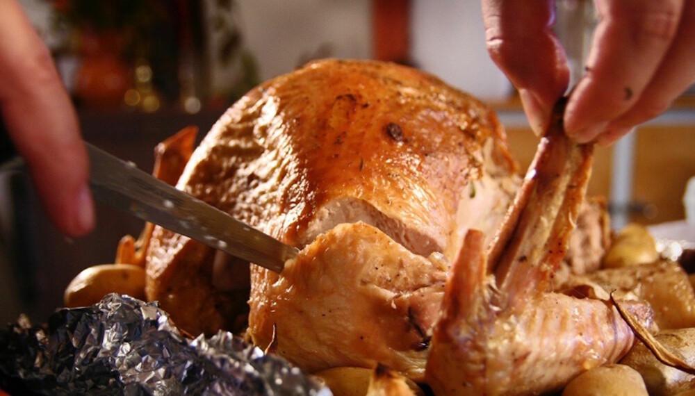 IKONISK: Det er vanskelig å forestille seg Thanksgiving uten kalkun.