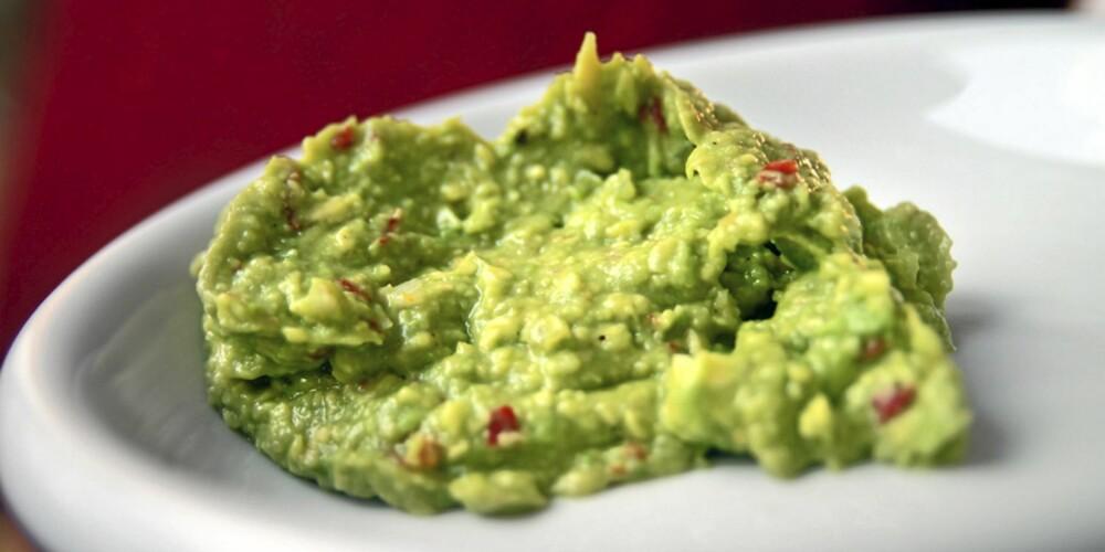 DEN GRØNNE SAUSEN:  Guacamole er lett å lage og den er enkel å variere.