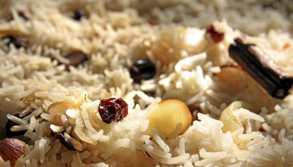 OPPSKRIFT PÅ RIS: Ris kan være dørgende kjedelig. Denne oppskriften gjør noe med det!