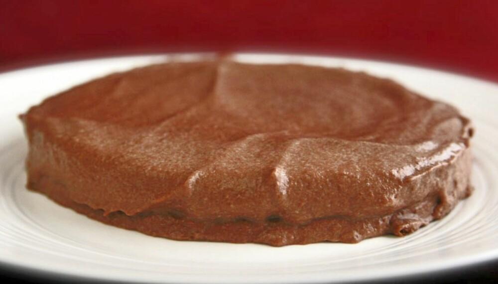 SJOKOLADEPUDDING: Det er faktisk ikke vanskelig å lage seg en sjokoladepudding.