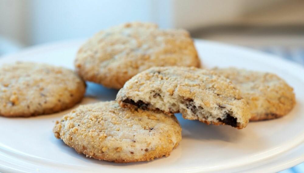 d1578dbfe Cookies med sjokolade og kremost - Spise