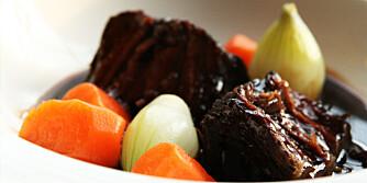 BRESERT: Langtidskok gir mørt og smakfullt kjøtt.