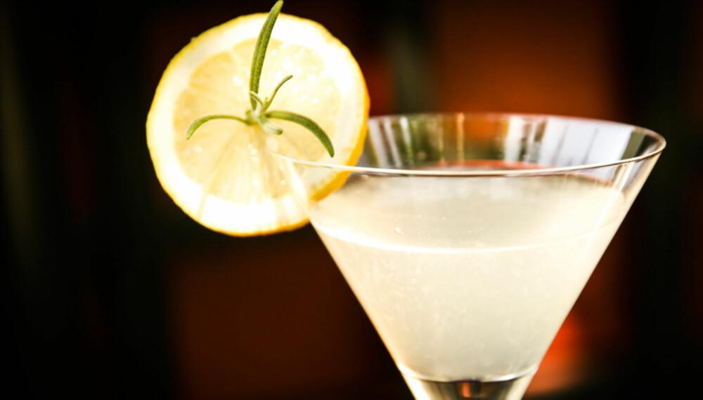 DRINK MED ROSMARIN: Endelig en kul drink.