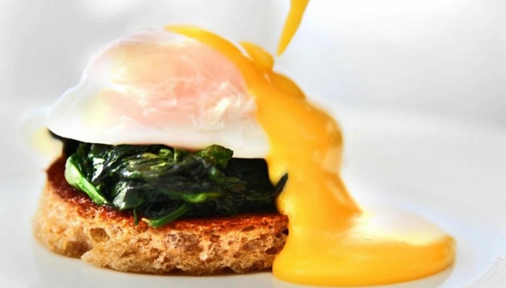 SYNDIG GODT: Både posjert egg og hollandaise.