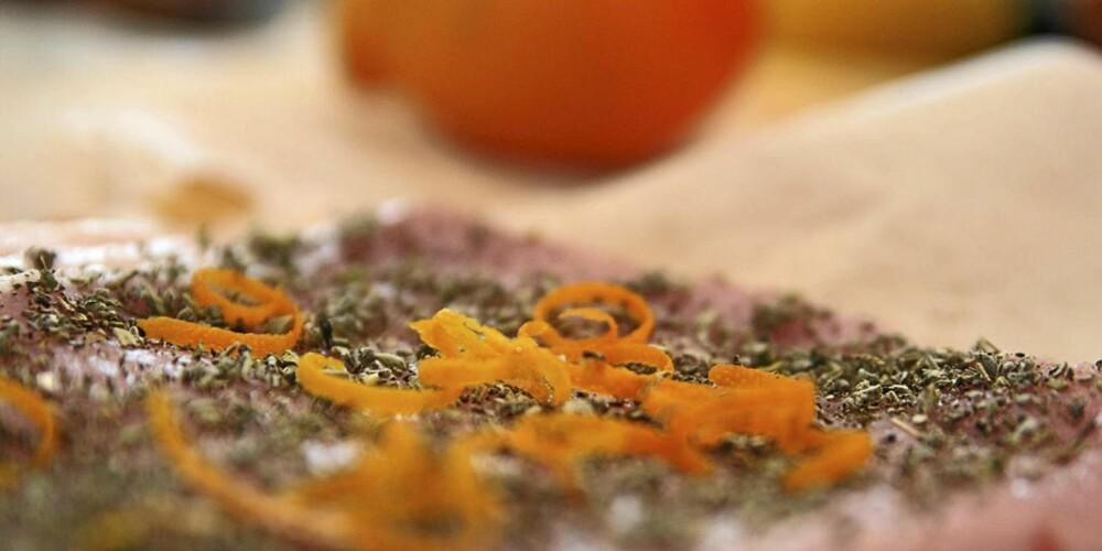 KYLLINGBRYST: Så raus med krydderet kan du være.