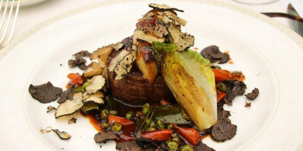 RESTAURANT I PROVENCE: Tornedos Rossini, et eventyr av en matrett for dem som mestrer de store måltider.