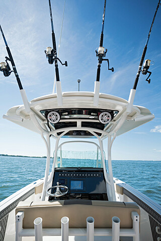 STANG INN: Wellcraft gir deg gode muligheter til å stille ut fiskeutstyret. (FOTO: Wellcraft)
