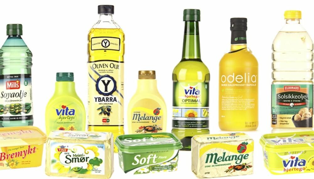 HVA ER BEST? Oljer, margarin, smør eller en blanding? Ukebladet ShapeUp har testet ulike former for stekefett.