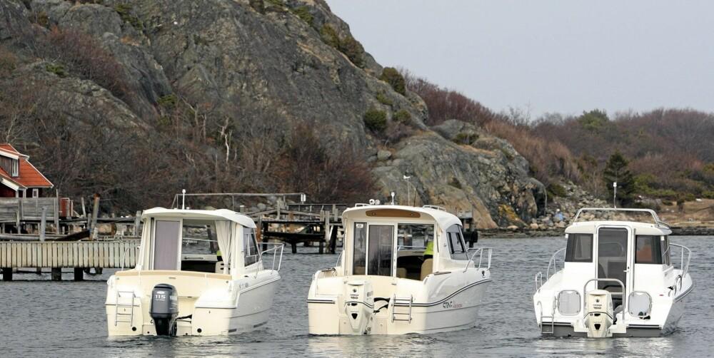 HELÅRS: Med et lukket styrehus kan båtene brukes større deler av året.