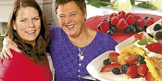 Daglig leder Hege Topstad (t.v.) og slanke-gründer Inger Kløkstad i Ingers Fibermat disker opp med sunnere alternativer for kaffekosen.