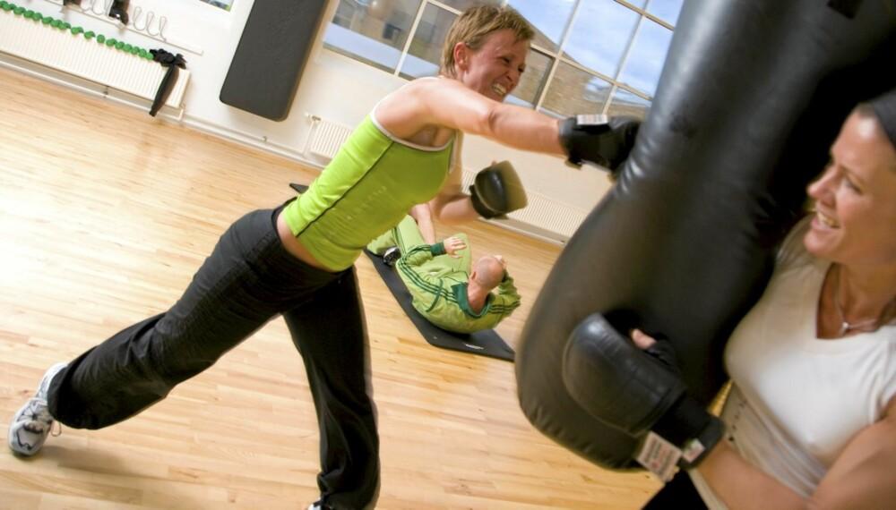 EN SPORTS-BH SKAL SITTE: Pupper som gynger og hopper under treningsøkten, kan rett og slett gjøre vondt.