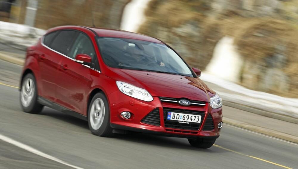 KOMPAKTMESTER: Nye Ford Focus er kompaktklassens beste akkurat i dag, mener vi.