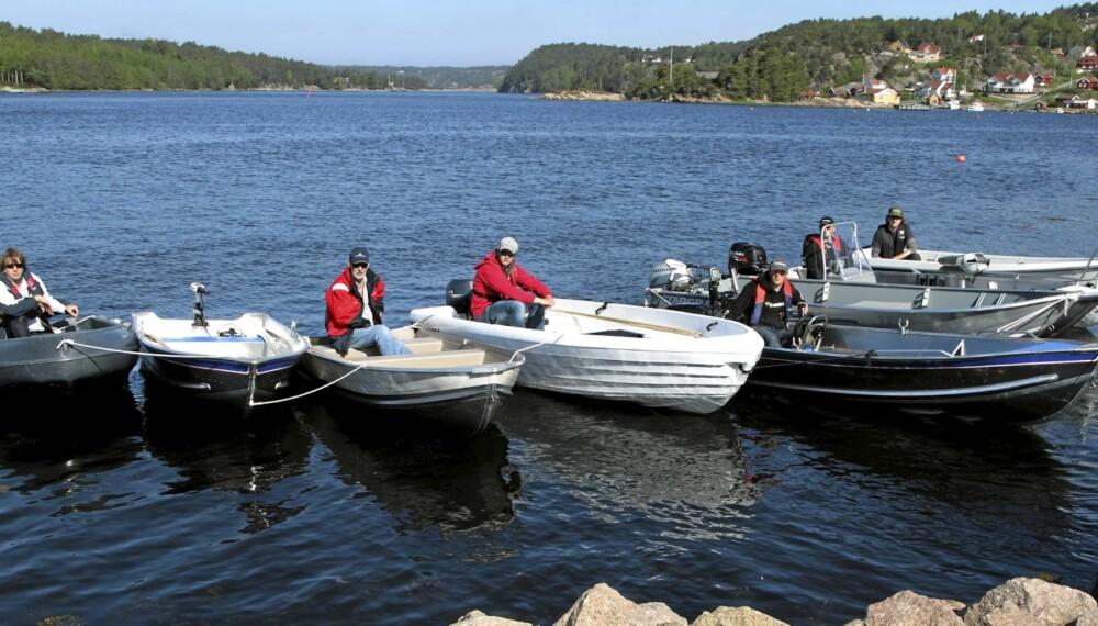 BREDT UTVALG: Det florerer av småbåter på markedet, så valget kan være vanskelig.
