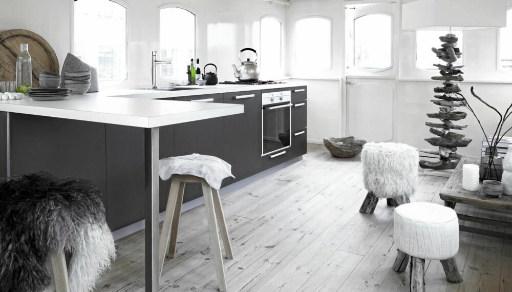 KJØKKEN: Dette kjøkkenet, Pero, er Kvik sin rimeligste modell