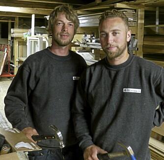 TESTPANEL: Mats Eriksen og Johan W. Schioldborg