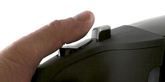 Lokket: Åpneren til lokket sitter for langt unna
