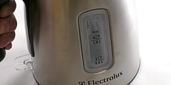 Avlesning: Tydelig avlesning på begge sider på kokeren fra Electrolux