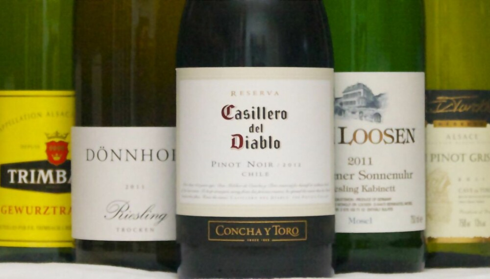 ASIATISK: Hvite viner passer oftest best til asiatisk mat, men du kan også bruke røde.