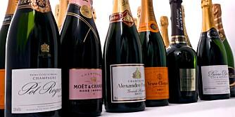 TEST: Vi har testet champagne
