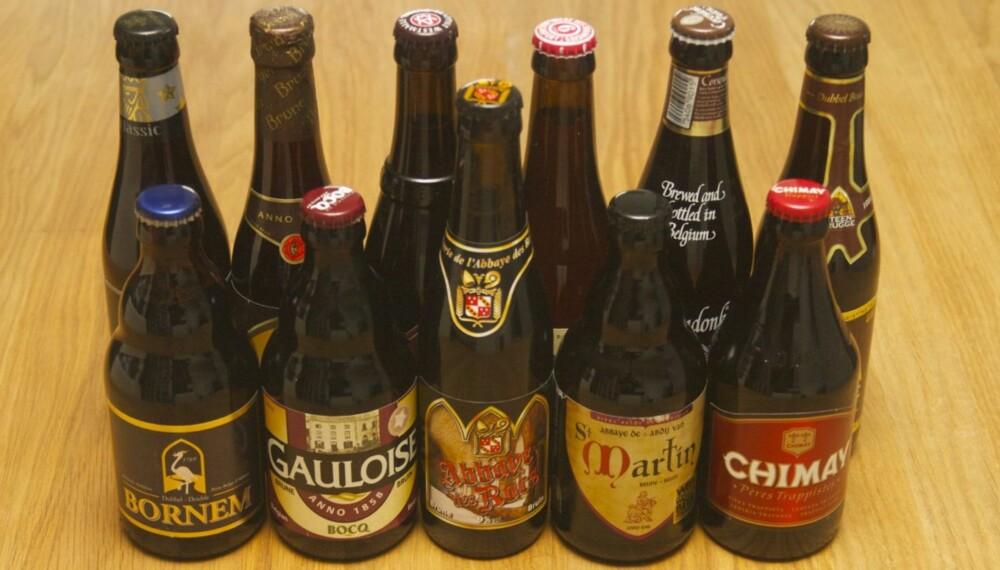 BELGISKE BRUNE: Disse ølene har en en rik og sødmefull smak med preg av karamell.