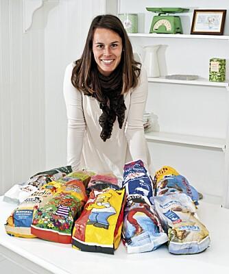 ERNÆRINGSFYSIOLOGEN: Camilla Andersen er tobarnsmamma og driver nettstedet www.somebody.no. Hun har bestemte meninger om sunnhetsverdien i brød til barn.