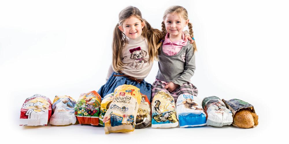 FERDIG TESTA: 10 ulike typer barnebrød var med i testen. Og de kan godt spises av voksne også.