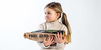 PØBELBRØD: Isabella er ingen pøbel, men dette brødet er kanskje for rampejenter også?