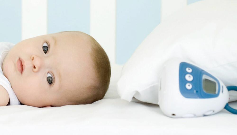 TEST AV  BABYCALL: Vi har testet åtte babycaller - med og uten video.