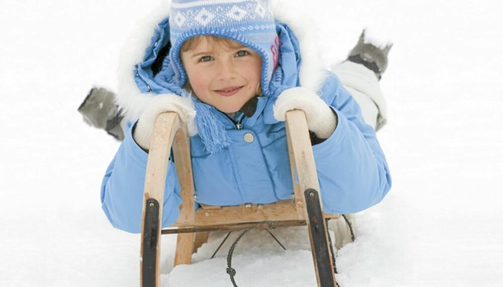 KLAR FOR VINTEREN: Foreldre & Barn har testet 14 av høstens nye vinterdresser til barn. Alle selges på det norske markedet. Samtlige modeller skal ifølge produsentene være vanntette, alle kan vaskes i maskin og fem kan tørkes i tørketrommel.