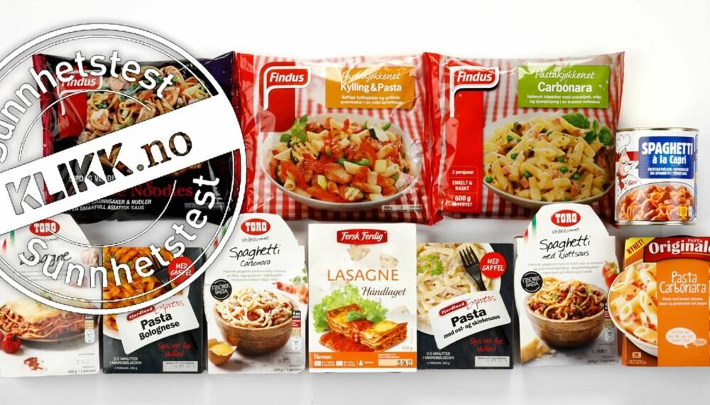 PASTATEST: Ernæringsfysiolog Gunn Helene Arsky har vurdert næringsinnholdet i 11 ferdige pastaretter for DinKost.no.