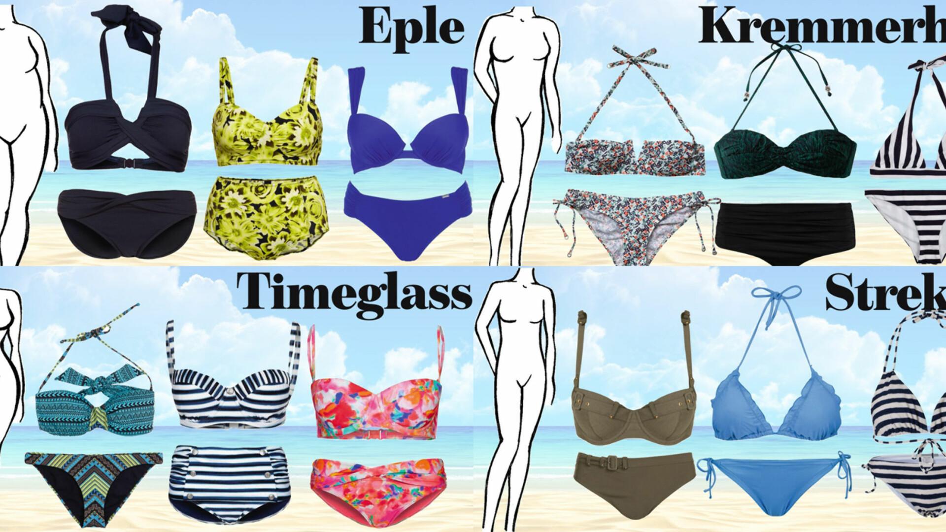 4f176838 Velg bikini etter din kroppsfasong - Mote