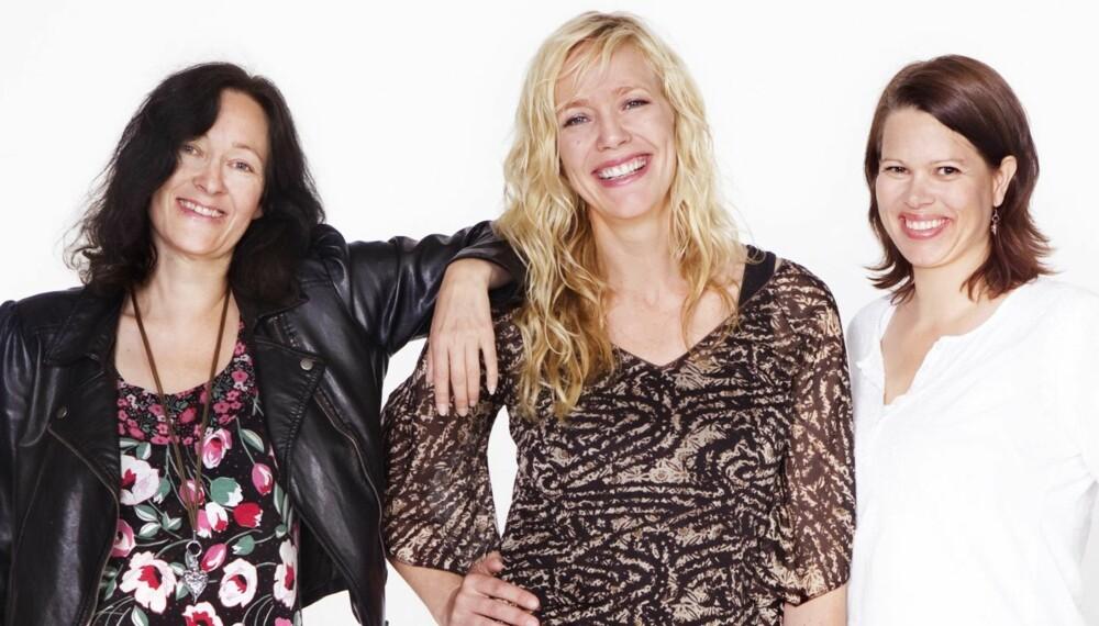 BLE NYE: Lærerne på Bolteløkka skole i Oslo, Elisabeth, Ane og Britt, fikk hjelp til å finne ny stil med Alt for damene.